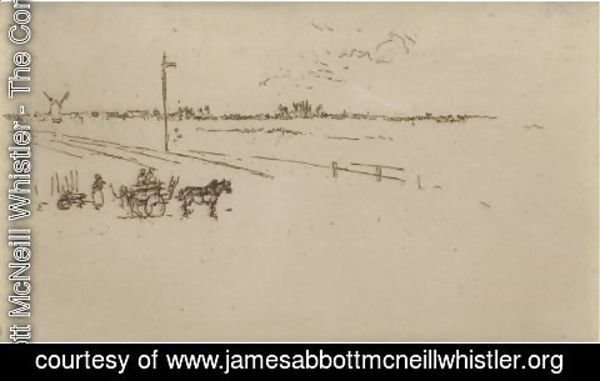 James Abbott McNeill Whistler - Railway-Station, Voves