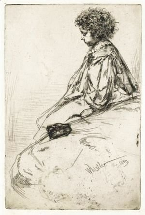 James Abbott McNeill Whistler - Bibi Lalouette 2