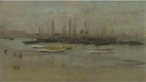 James Abbott McNeill Whistler - Blue And Opal Herring Fleet