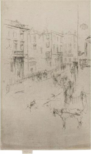 James Abbott McNeill Whistler - Alderney Street