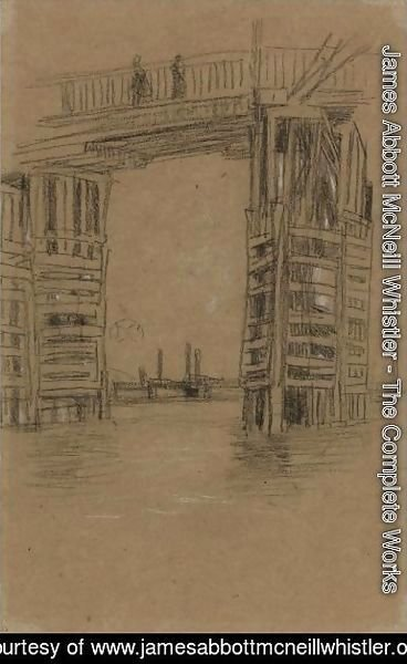 James Abbott McNeill Whistler - Study For The Tall Bridge