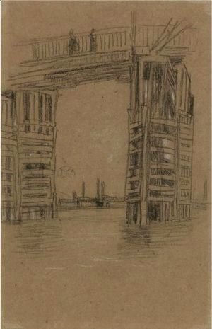 Study For The Tall Bridge