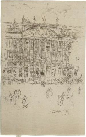 James Abbott McNeill Whistler - Grand Place, Brussels