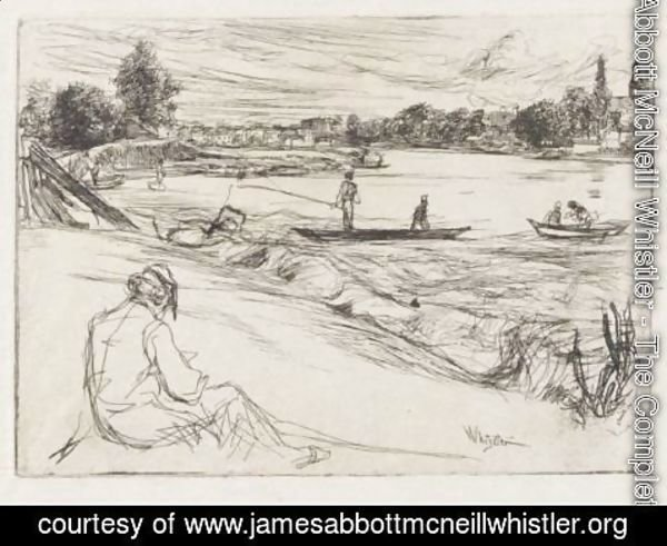 James Abbott McNeill Whistler - Sketching