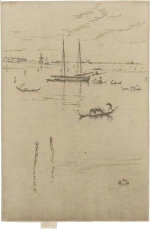 James Abbott McNeill Whistler - The Little Lagoon