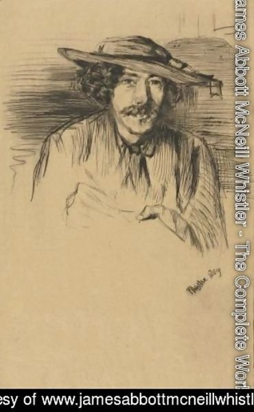 James Abbott McNeill Whistler - Portrait Of Whistler