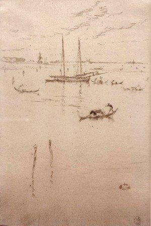 James Abbott McNeill Whistler - The Little Lagoon 2