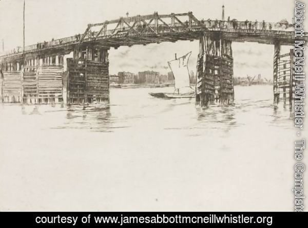 Old Battersea Bridge 2