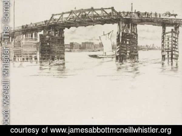 James Abbott McNeill Whistler - Old Battersea Bridge 2