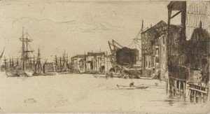 James Abbott McNeill Whistler - Free Trade Wharf
