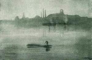James Abbott McNeill Whistler - Nocturne The Thames at Battersea