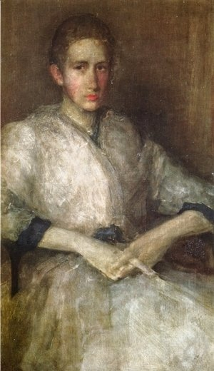 James Abbott McNeill Whistler - Portrait of Ellen Sturgis Hooper
