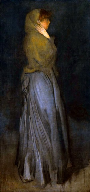 James Abbott McNeill Whistler - Arrangement in Yellow and Grey