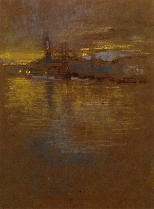 James Abbott McNeill Whistler - View across the Lagoon