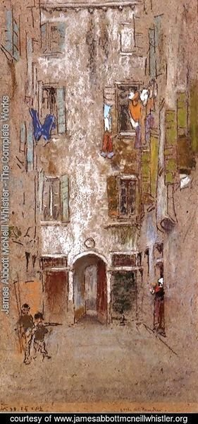 James Abbott McNeill Whistler - Paradise Court