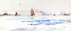 James Abbott McNeill Whistler - The North Sea