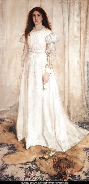 Symphony in White, Number 1- The White Girl, 1862