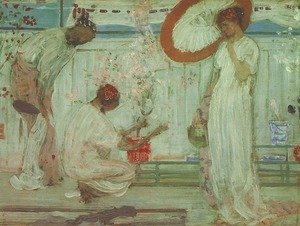 James Abbott McNeill Whistler - White Symphony: Three Girls